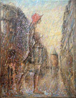 Summer Rain (Old Riga).