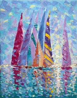 Colored Sails.